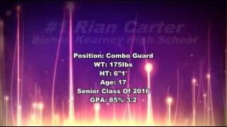 Rian Carter #1 Bishop Kearney Roc Ny