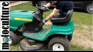 Comment Demonter Le Plateau De Coupe D Un Tracteur Tondeuse Youtube