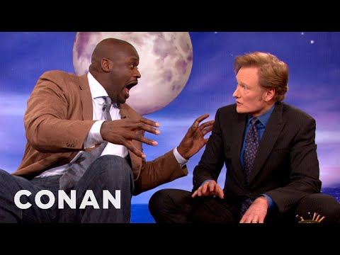 Shaquille O'Neal Coaches His Son To Use The 'Rah!' Defense - CONAN on TBS