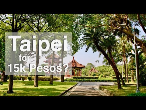 Taipei for 15 Thousand Pesos