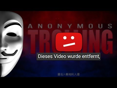 Youtube striked Anonymous (Trolling) #saveanonymoustrolling