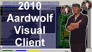 Old Video: Aardwolf Visual Client -William Arends(Moshu) C# / XNA / MUD / Mushclient