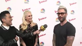 The Voice Coaches Chat with ET on the Red Carpet, May 22, 2017