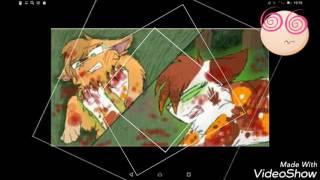 Коты воители под песню миру мир ,(видео на конкурс Blue Star) я учавствую