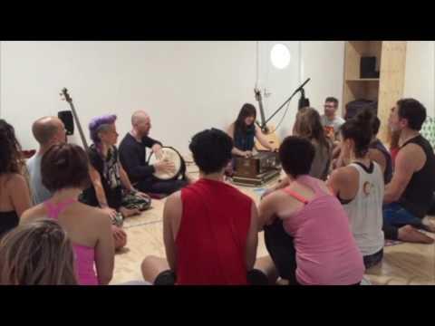 Channel Om Kirtan At Yoke Yoga Building Up Youtube