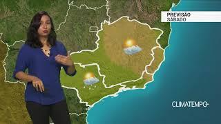 Previsão Sudeste – Ar seco ganha força em MG