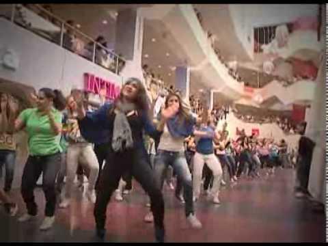 yes glee flash mob Tel Aviv