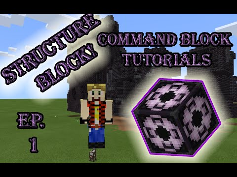 Structure Block! How To Move A Bastion In Minecraft 1.16. (Command Block Tutorials)