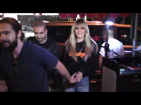 Heidi Klum Parties With Hubby Tom Kaulitz And Brother Bill After Tokio Hotel Concert
