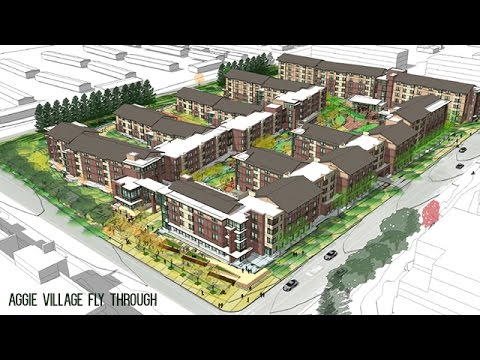 New Aggie Village Apartments At Colorado State University