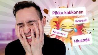 VITSEJÄ TEIDÄN SANOISTA  (Try To Laugh)