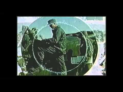 The 280 MM Gun At The Nevada Proving Ground (authentic video)