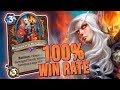 I Had a 100% WIN RATE w/ TEMPO WARRIOR... Until I Lost | Saviors of Uldum | Hearthstone
