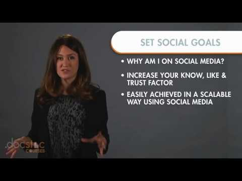 Step 1- Set Your Social Goals - 6-Step Strategy To Profitable Social Media Marketing