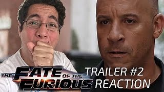 The Fate of the Furious - Official Trailer #2 Reaction