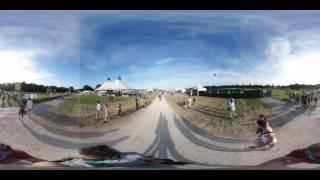 Terres du Son 2016 : l'accès à la prairie en 360°