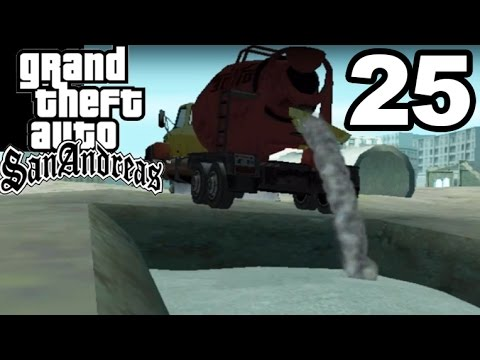 GTA San Andreas | BURRIED ALIVE UNDER CONCRETE! #25
