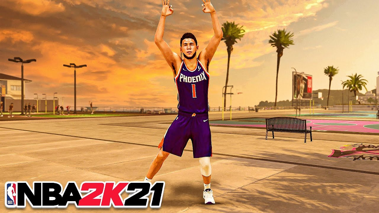 DEVIN BOOKER BUILD is UNSTOPPABLE in NBA 2K21