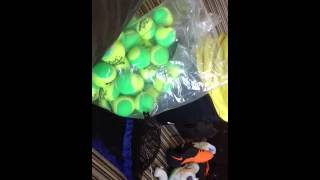 Tennis Balls Unboxing