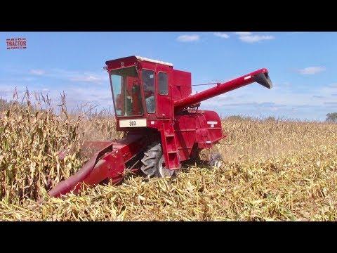 Corn Combines At The 2019 Half Century Of Progress Show