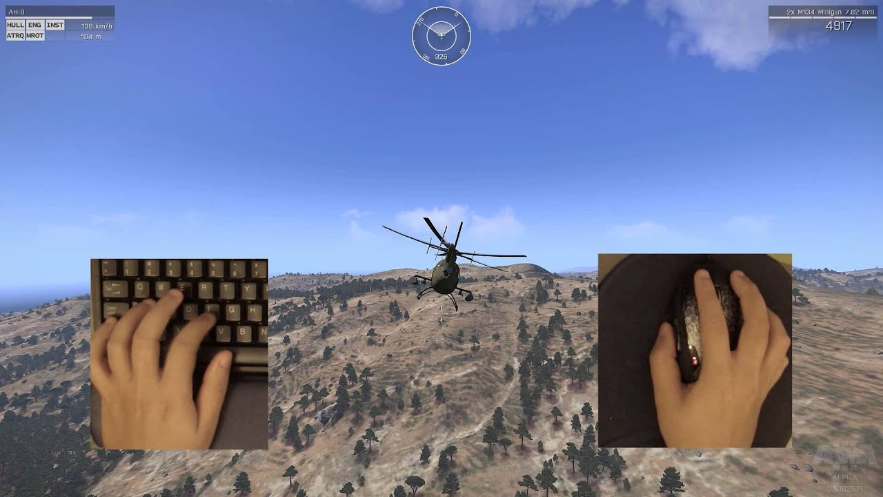 Arma 3 Helicopter Tutorial: Controls