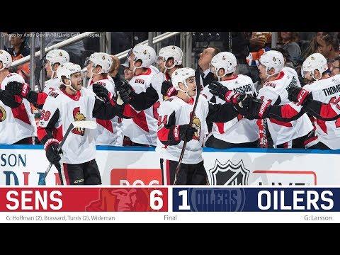 Oct 14: Sens vs. Oilers - Post-game Media