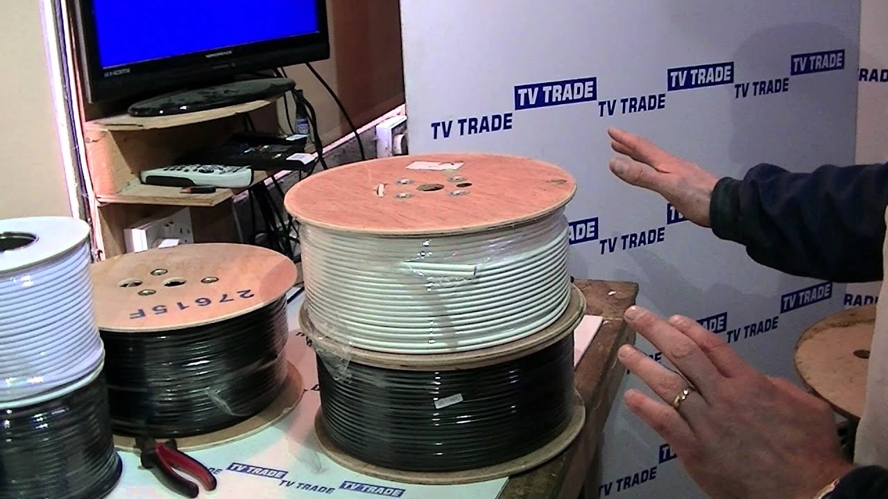125m Twin RG6 Satellite Cable - YouTube