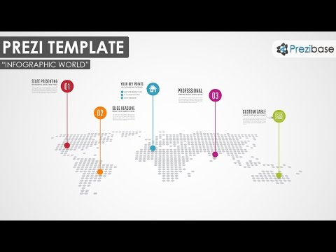 Infographic World  - Prezi template
