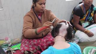 I shaved my head in India
