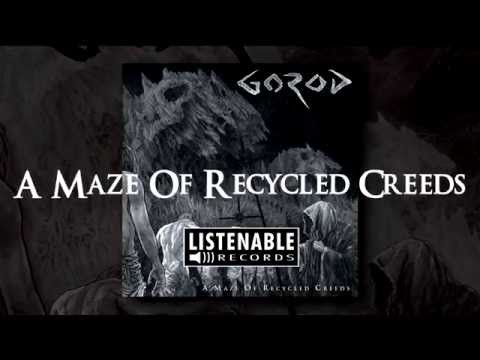 GOROD - Temple to The Art - God (OFFICIAL LYRIC VIDEO)