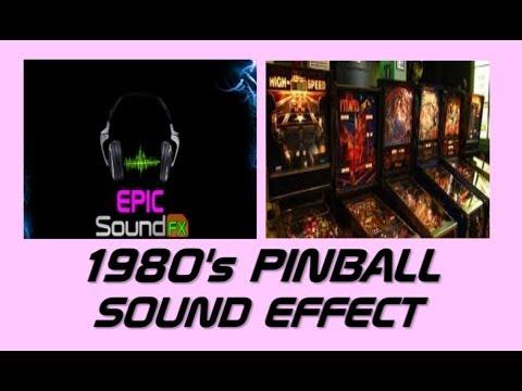 1980's PINBALL sound effect - EPICsoundFX