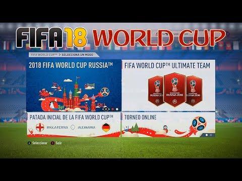 FIFA 18 World Cup - Esto Es Lo Que Trae El DLC: Modos De Juego, Equipos, Ultimate Team