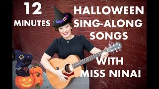 Children's Halloween Songs - 12 Minutes of Sing-Along & Move Along Songs for Kids