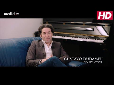 Gustavo Dudamel - Nobel Prize concert 2017 - Interview