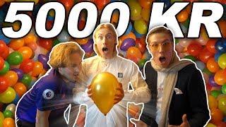 GISSA RÄTT BALLONG OCH VINN 5000 KR