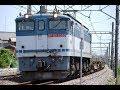 2018年6/8高崎線佐谷田カーブ(梅沢踏切)Japanese train Takasaki-Line