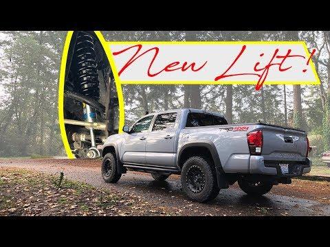 Bilstein 5100 Lift Install Part 1 || 2019 Toyota Tacoma TRD Off Road