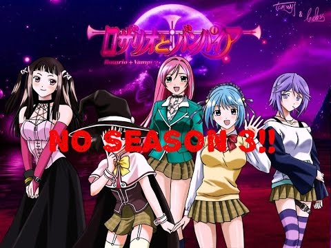 Anime Talk : Reasons Why There WON'T BE a Rosario+Vampire Season 3