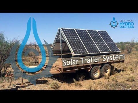 NWHS Solar Trailer System