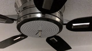 Installing SOLARA-USA LED light Kit for Ceiling Fan -- a video by Serge Caleca