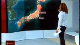 Terremoto de magnitude 8.9 atinge o Japão