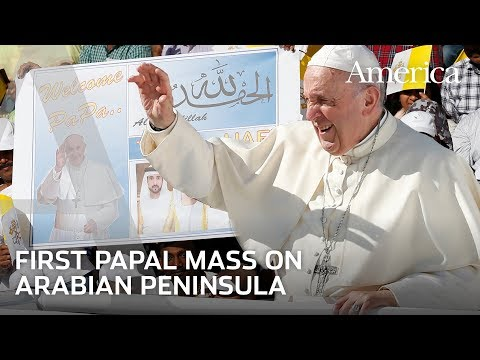 Pope Francis celebrates historic Mass in United Arab Emirates