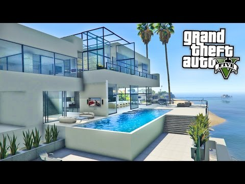 GTA 5 Mods - BILLIONAIRES MANSIONS MOD TOUR!! GTA 5 Mansions Mod Gameplay! (GTA 5 Mods Gameplay)