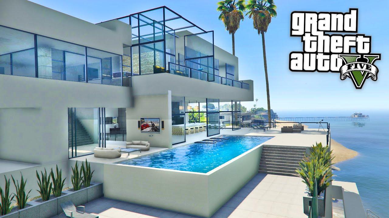 Gta 5 mods billionaires mansions mod tour gta 5 mansions mod gameplay gta 5 mods gameplay