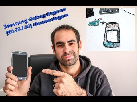 Samsung Galaxy Express (GT-i8730) Desmontagem