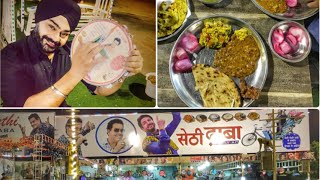 Food ke sath Bhangra Free at Sethi Dhaba | 20% discount for defence personnel on food
