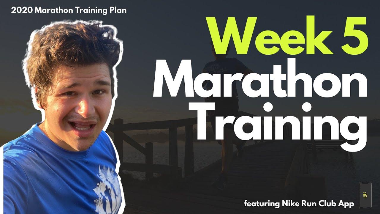 Marathon Training Plan 2020 Week 6