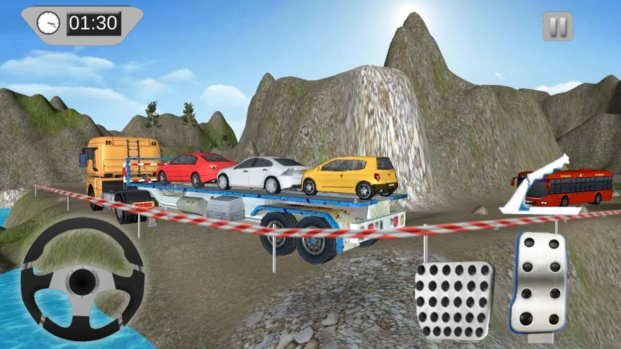 Car Transport Truck Driver in Mountain (by ALPHA Games Studio ...