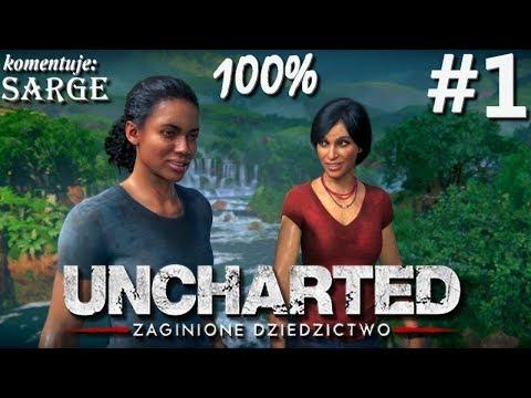Zagrajmy w Uncharted: Zaginione Dziedzictwo (100%) odc. 1 - Chloe Frazer na tropie artefaktu   1440p