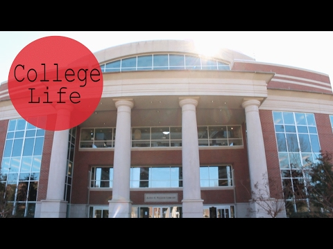 A Day in My College Life // MTSU